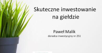 Wykład – moja strategia inwestowania i błędy młodości